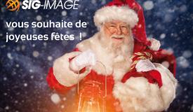 SIG-IMAGE vous souhaite de bonne fêtes
